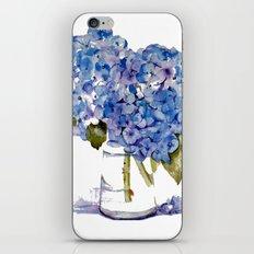 Cape Cod Hydrangea Large Canvas iPhone & iPod Skin