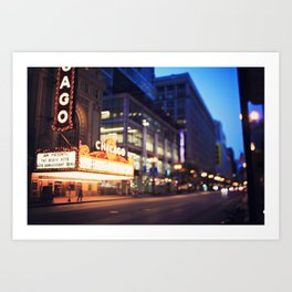 Chicago Theatre Art Print