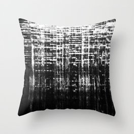 Dark Readings Throw Pillow