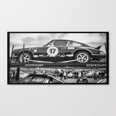 Historic car Canvas Print