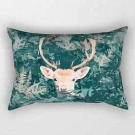 Oh Deer! Pop-art style / boho / influence / fall season Rectangular Pillow