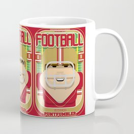 American Football Red and Gold - Enzone Puntfumbler - Bob version Coffee Mug