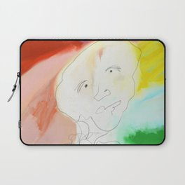 Man Surrounded By Color Laptop Sleeve