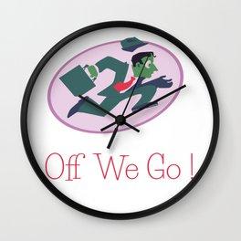Off we go! Wall Clock
