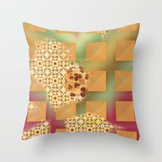 Grid & pattern Throw Pillow
