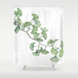 GINKGO, by Frank-Joseph Shower Curtain