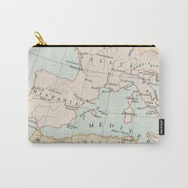 Vintage Map Of The Roman Empire Carry-All Pouch