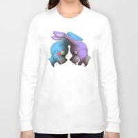 fnaf Long Sleeve T-shirts featuring Two Bonnies by Rozga