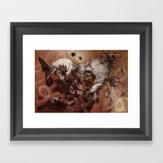 Infertile Framed Art Print