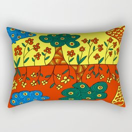 Double Nature Rectangular Pillow
