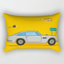 Martin. Aston Martin. Rectangular Pillow
