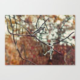 troopers climbing Canvas Print