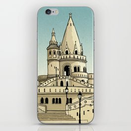 Fisherman's Bastion - Budapest - Hungary iPhone Skin