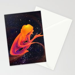 Kelsey in the Universe Stationery Cards