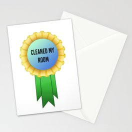 Cleaned my Room Award Stationery Cards