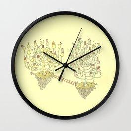 mortgage a mushroom Wall Clock