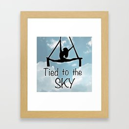 "Aeiralist ""Tied to the Sky"" Graphic Framed Art Print"