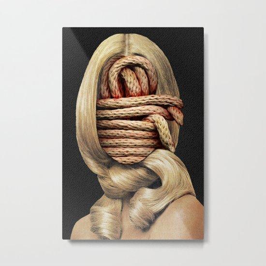 Knots Metal Print