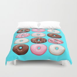 Donuts Party Duvet Cover