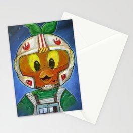 Li'l Orange Leader Stationery Cards