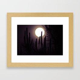 Super Moon II Framed Art Print
