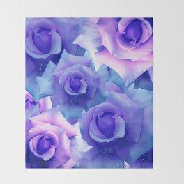 Bouquet de fleur Throw Blanket