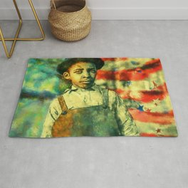 Face of Greatness Rug