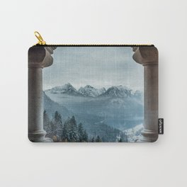 The view - Neuschwanstin casle Carry-All Pouch