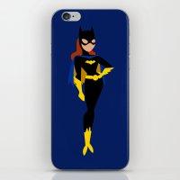 batgirl iPhone & iPod Skins featuring Batgirl by karla estrada