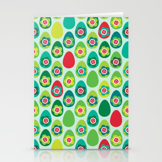 Red Egg Stationery Cards