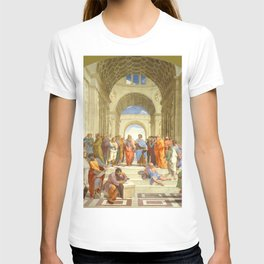"Raffaello Sanzio da Urbino ""The School of Athens"", 1509-1510 T-shirt"