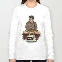 moonrise kingdom Long Sleeve T-shirts featuring Moonrise Kingdom by Laura O'Connor
