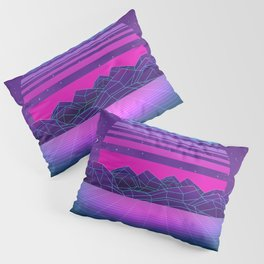 Future Sunset Vaporwave Aesthetic Pillow Sham