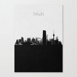 City Skylines: Tianjin Canvas Print