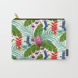 Hummingbird in the Rainforest Carry-All Pouch