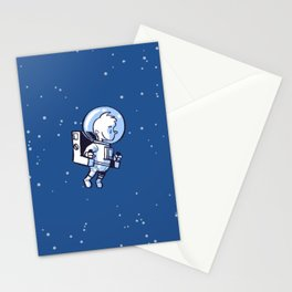 Little Astronaut - Jetpack Stationery Cards