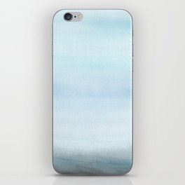 Watercolor Abstract Landscape iPhone Skin