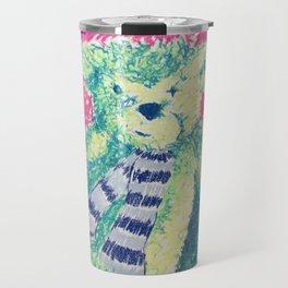 Teddy Scarf-Face Travel Mug
