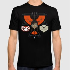 Spirited Avatar X-LARGE Mens Fitted Tee Black