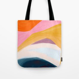 Let Go - no.36 Shapes and Layers Tote Bag
