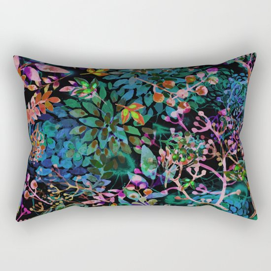 flower festival Rectangular Pillow