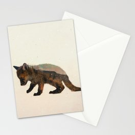 Little Ones: Fox Stationery Cards