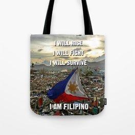 Survive Filipino Tote Bag