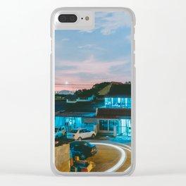 Lovely Suburb, Kuala Lumpur, Malaysia Clear iPhone Case