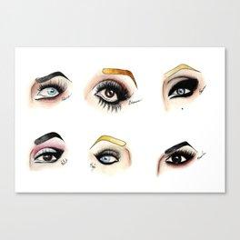 Eye see Drag Canvas Print