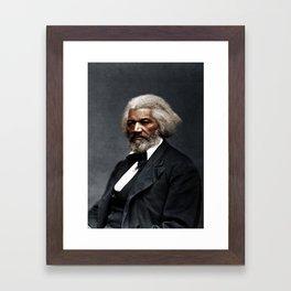 Frederick Douglass Framed Art Print