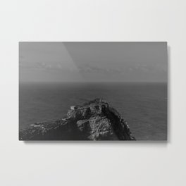 Loneliness house Metal Print