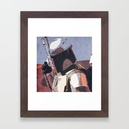 Bobba Fett | The Bounty Hunter | Star War Art Framed Art Print