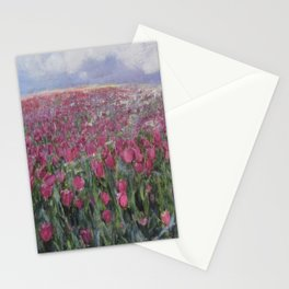 Flower Fields Stationery Cards