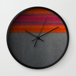 """""""Architecture, cement texture & colorful"""" Wall Clock"""